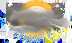 Gök Gürültülü Sağanak Yağış