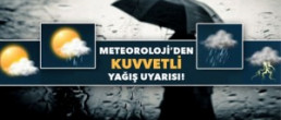 Hafta sonu kuvvetli yağışlara dikkat!