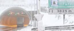 Bolu dağında kar esareti
