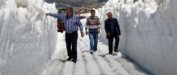 Antalya'da Şok eden Kar yağışı 5 METRE!