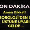 Marmaraya Kuvvetli Yağış Uyarısı!